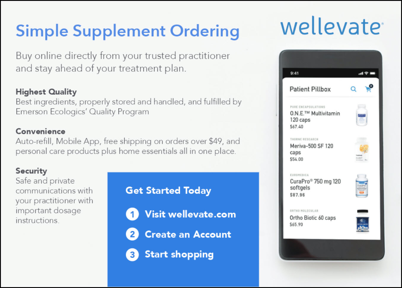 Wellevate, online dispensary, Dr. Elyssa Wright
